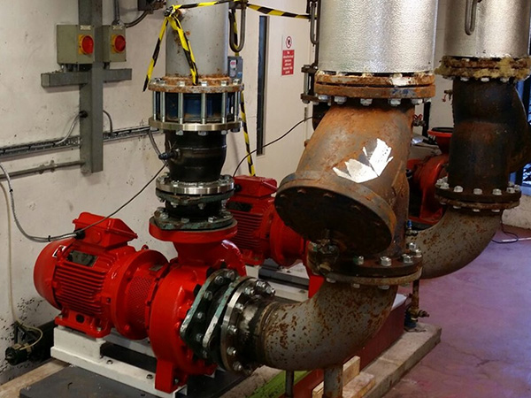 Leadenhall Street Pumps - ThermaGroup