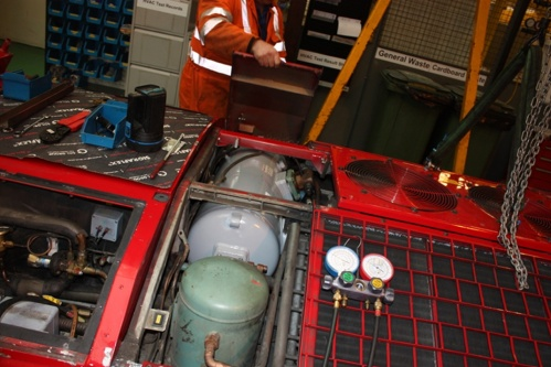 Case Study: Servicing Air-Conditioning on Modern Trains