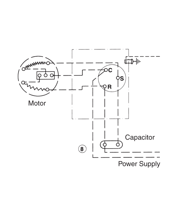 Single Phase Wire Diagrams
